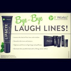 The It Works skin care line is amazing! CLICK THE PIN for more info. www.sherikmartin.myitworks.com