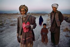 On Foot - Afghanistan - Steve McCurry