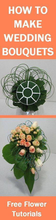 How to Make Wedding Bouquets - Free Flower Tutorials  Learn how to make bridal bouquets, wedding corsages, groom boutonnieres, church decorations and reception centerpieces.  Buy wholesale flowers by single bunches. Wedding Reception Centerpieces, Fall Wedding Bouquets, Corsage Wedding, Wedding Flowers, Bridal Bouquets, Bridal Decorations, Flower Decorations, Church Decorations, Deco Floral