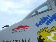 El Skyhawk A4C de Isaac y el recuerdo de su hazaña durante la guerra de Malvinas Falklands War, Jet Engine, War Machine, Air Force, Avengers, Aircraft, A4, Airplane, Wings