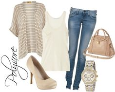 Keeping it Light., created by missbao on Polyvore