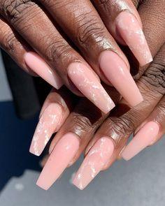 French Acrylic Nails, Cute Acrylic Nails, Gel Nail Art, French Nails, French Nail Designs, Gel Nail Designs, Cute Nail Designs, Aycrlic Nails, Hair And Nails