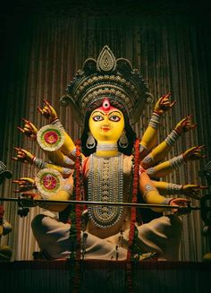 My Entertainment Rocks: Awesome Artwork Of Maa Durga Durga Puja Image, Maa Durga Photo, Durga Picture, Durga Puja Kolkata, Ganpati Bappa Wallpapers, Durga Ji, Lord Rama Images, Durga Painting, Spirited Art