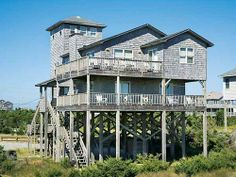 $2595 Drifting Dunes #593 - Oceanfront house - Avon, Outer Banks (OBX) | RentABeach community pool