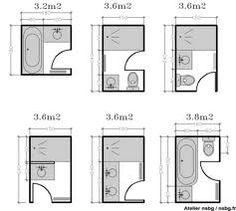 Amenagement petite salle de bain how to maximize height and Tiny Bathrooms, Tiny House Bathroom, Bathroom Toilets, Laundry In Bathroom, Bathroom Bath, Bath Shower, Small Bathroom Layout, Bathroom Design Layout, Bathroom Designs