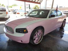 pale pink dodge charger   ... pink dodge charger for sale i ll take in black n white instead of pink