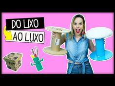 DIY: Do LIXO ao LUXO - 3 Ideias que você precisa Tentar ✂ #11 - YouTube