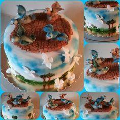 Torta galambásznak