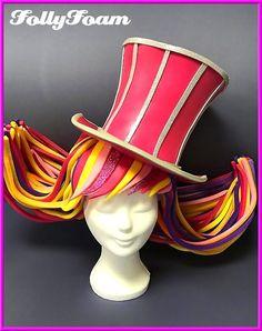 Foamwig / foampruik / Schaumperücke / wig / foamhat / foamhoed made of foam from FollyFoam! Great for carnaval, vastelaovend, Karneval, fasching, dragshow, cosplay, theatre, musical, etc