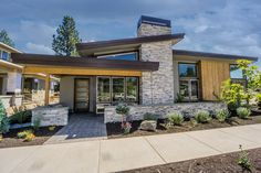Modern Style House Plan 3 Beds Baths 1731 Sq/Ft Plan 2019 Modern Style House Plan 3 Beds Baths 1731 Sq/Ft Plan The post Modern Style House Plan 3 Beds Baths 1731 Sq/Ft Plan 2019 appeared first on Landscape Diy. Small Contemporary House Plans, Small Modern Home, Modern Contemporary Homes, Small House Plans, Modern House Design, Modern Home Plans, Contemporary Architecture, Mcm House, Design Exterior
