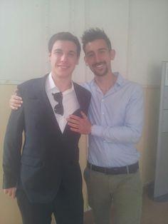 With my friend Alessio before award cerimony! #award #marketingidea2013 #pinprato #unifi / Con Alessio prima della premiazione! #premio #marketingidea2013 #pinprato #unifi