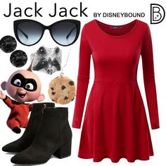 DisneyBound is meant to be inspiration for you to pull together your own outfits which work for your body and wallet whether from your closet or local mall. As to Disney artwork/properties: ©Disney Disney Themed Outfits, Disney Bound Outfits, Disney Dresses, Disney Clothes, Disney Inspired Fashion, Disney Fashion, Estilo Disney, Disney Cosplay, Disney Costumes