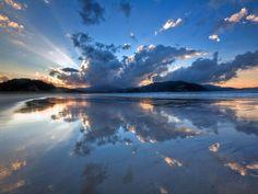 Waikawau Bay, New Zealand - by Steve Burling
