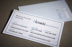PUBLIC letterpress & laser engraved business cards