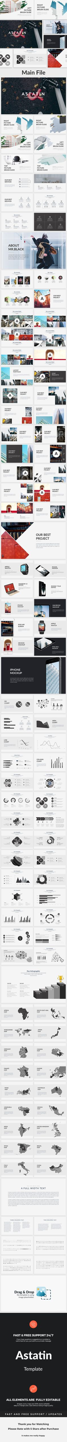 Astatin Creative Powerpoint Template — Powerpoint PPT #food presentation #bleached • Download ➝ https://graphicriver.net/item/astatin-creative-powerpoint-template/19265947?ref=pxcr