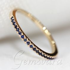 SAPHIRE AND YELLOW GOLD engagement ring - Google Search