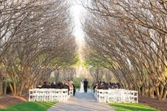 I've just fallen head over heels in love with theDallas Arboretum & Botanical Gardens. It's venue perfection, and quite possibly could be one of my favorite ceremony settings of all time. It doesn't hurt that this wedding captured byMichele Shore Photois