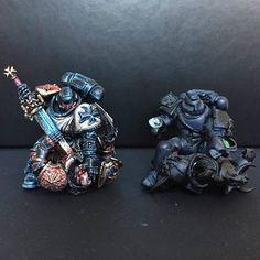Warhammer Models, Warhammer 40000, Eternal Crusade, Space Wolves, Warhammer 40k Miniatures, Fantasy Miniatures, Space Marine, Miniture Things, Colour Schemes