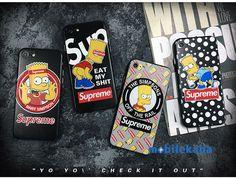 シュプリームxシンプソンズコラボ新品iPhoneX、iPhone8、iPhone7ケース。かわいいキャラクター、シンプソンズでカッコイイ!超薄いのタイプで、一体性絶好!