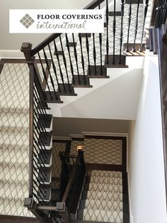 View stair runner pictures from Cary Floor Coverings Intl. These are actual photos of stair runners we have installed. Enjoy our stair runner pictures. Hall Runner, Awesome House, Urban Farmhouse, Entrance Hall, Flooring Ideas, Hostel, Organizing, Home Goods, Tile