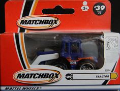 Model Matchbox Tractor