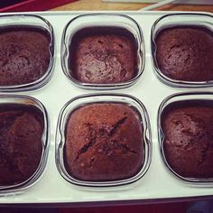 Chocolate fondant without eggs cooked in a multidelice yogurt maker - Dessert Recipes Chocolate Fondant, Chocolate Desserts, Ww Desserts, Dessert Recipes, Dessert Ideas, Yogurt Maker, Yogurt Parfait, Greek Recipes, Healthy Breakfast Recipes