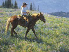 Mountain Garden Artist: Robert Duncan Midway, Utah Art Print