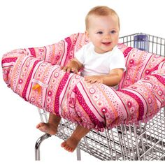 Bright Starts - Comfort & Harmony Cozy Cart Cover, Pink