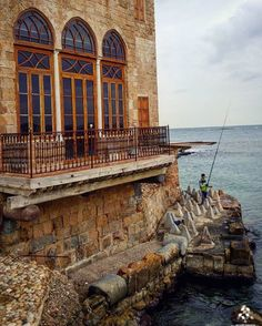 old architecture at #Tyre fishing port! By @ashraf_nas