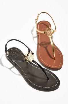 Tory Burch 'Melinda' Flat Sandal
