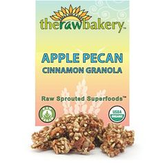 The sweetness of organic pecans matched with delicious organic apples ...