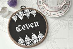 Coven cross stitch