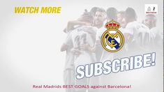 Real Madrids BEST GOALS Against Barcelona - Clasico Goals