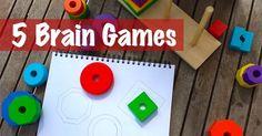 5 Brain Games for Ki