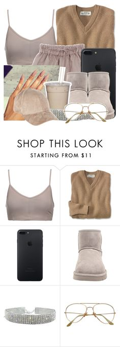 """""""Getting ma nails done with Helene lol"""" by denzi-767 ❤ liked on Polyvore featuring Live the Process, UGG Australia and River Island"""