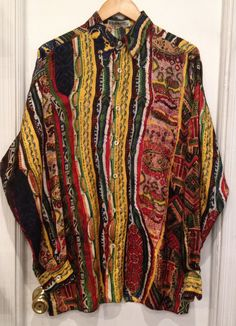 Coogi Silk Shirt