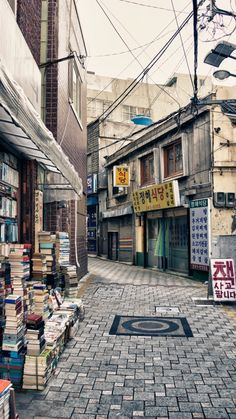 Busan in South Korea. Street for sale of new and used books. --Would soooo love to be there! Busan South Korea, South Korea Travel, Timor Oriental, Places To Travel, Places To Visit, Japan Street, City Aesthetic, Brunei, Landscape Photography