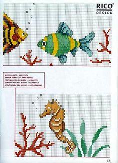 Edilse Bordados: Peixes