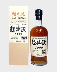 Distilled in 1999 with an alcohol strength of Rum Bottle, Liquor Bottles, Whiskey Bottle, Karuizawa, Japanese Whisky, Single Malt Whisky, Distillery, Strength, Alcohol