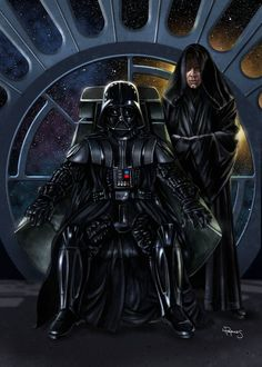 Darth Vader & Sith Luke Skywalker - Star Wars - Lawrence Reynolds
