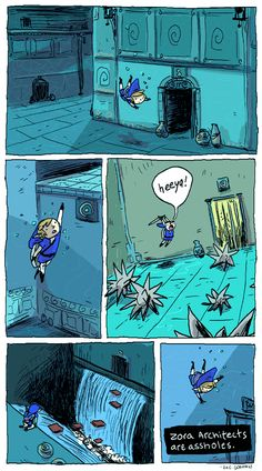 My thoughts while playing through the water temple in Zelda: OoT (This comic was made by Zac Gorman! The Legend Of Zelda, Legend Of Zelda Memes, Nintendo 3ds, Video Game Art, Video Games, V Video, Link Zelda, Zelda Breath, Twilight Princess