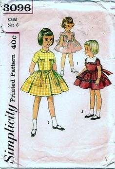 I love the yellow one... so simple - not flouncey etc...