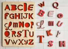 Puzzle Alphabet par Looodus After they have their letters down.