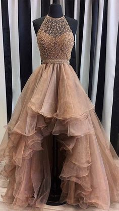 Prom Dresses With Pockets, Straps Prom Dresses, High Low Prom Dresses, Prom Dresses For Teens, Cute Prom Dresses, Sweet 16 Dresses, Tulle Prom Dress, Sexy Dresses, Evening Dresses