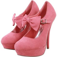 Honeysuckle high heels. Gorgeous.