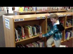 Elementary Library Lesson #2 - Picture Book Organization (Edgerton Schoo...