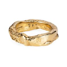 Our Yellow Gold Rough Ring has a raw look as if it was a nugget of gold that has just been dug out of the ground. Our Yellow Gold Rough Ring has a raw look as if it was a nugget of gold that has just been dug out of the ground. Engagement Rings For Men, Alternative Engagement Rings, Diamond Cluster Ring, Diamond Bands, Diamond Earrings, Diamond Jewelry, Diamond Stud, Emerald Diamond, Stud Earrings