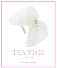 Headband by Sereni & Shentel 2012 Tea Time Collection - Zamunda. Made in Borneo.