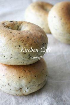 Sweet Bagel Recipe, Savory Bread Recipe, Bagel Bread, Bread Bun, Yeast Bread, Tart Recipes, Bread Recipes, Baking Recipes, Vegan Recipes