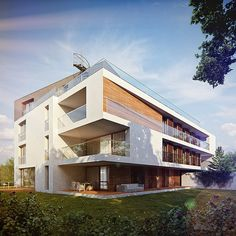 Compilation of residential buildings visualizations